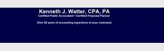 Kenneth J. Watter, CPA